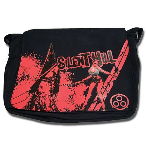Silent Hill Nurse And Pyramid Messenger Bag