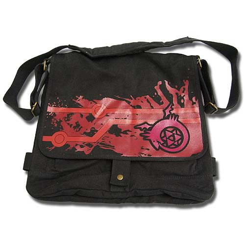 Fullmetal Alchemist Brotherhood Homunculus Messeneger Bag