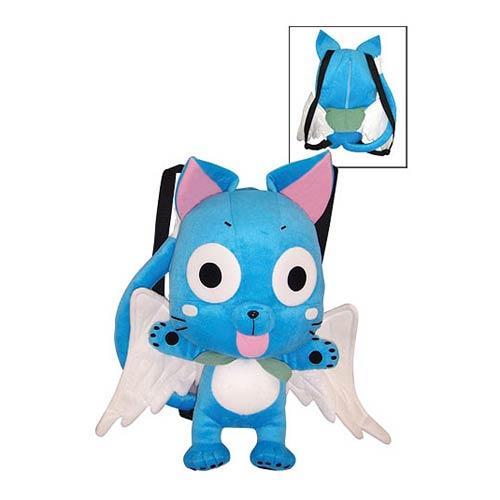 Fairy Tail Happy Cat Plush