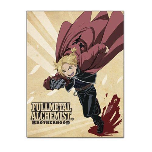 Fullmetal Alchemist Brotherhood Ed Sublimation Throw Blanket