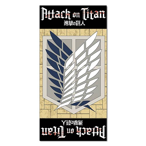 Attack on Titan Survey Corps Towel