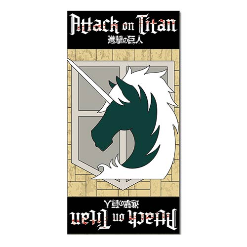 Attack on Titan Military Police Towel