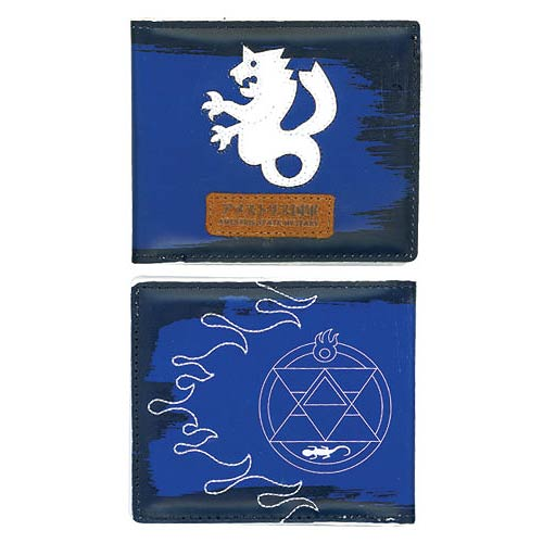 Fullmetal Alchemist Brotherhood Roy Blue Wallet