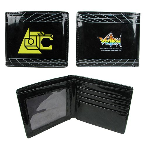 Voltron Lion Symbol Black Wallet