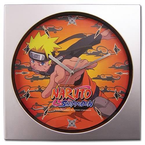 Naruto Shippuden Naruto Wall Clock