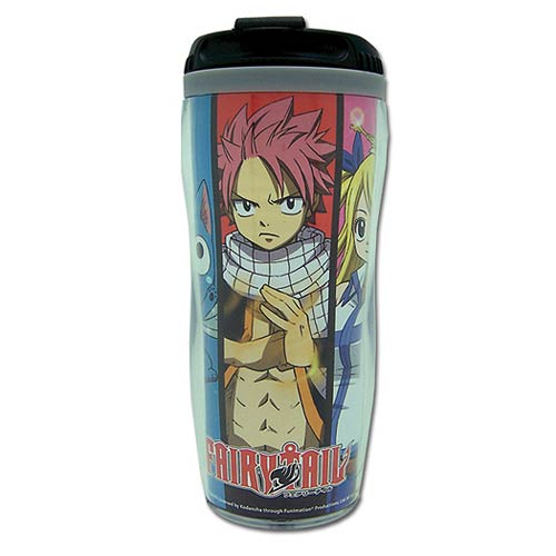 Fairy Tail Group Photo Tumbler