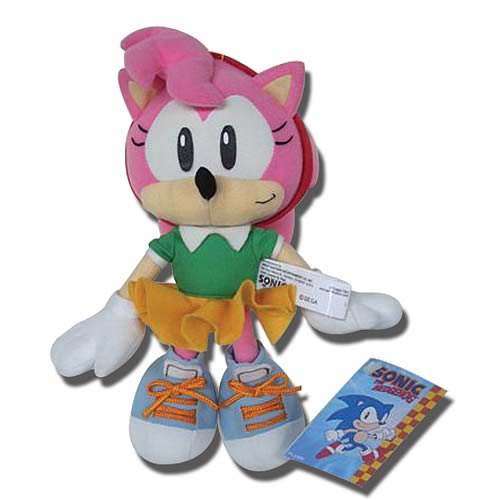 Sonic the Hedgehog Classic Sonic Amy Plush