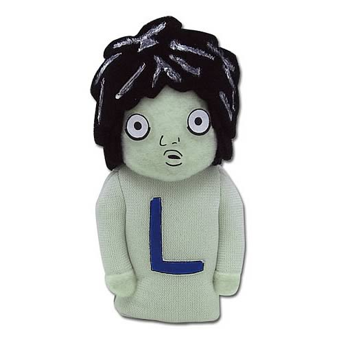 Death Note L Plush Finger Puppet