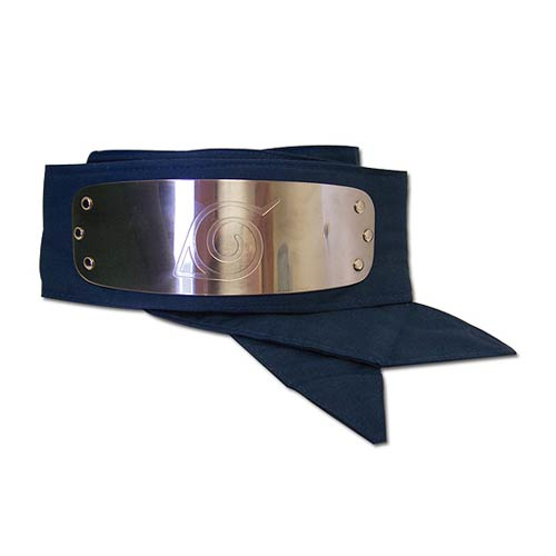 Naruto Leaf Village Blue Headband Great Eastern