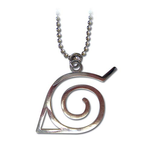 Naruto Leaf Symbol Necklace