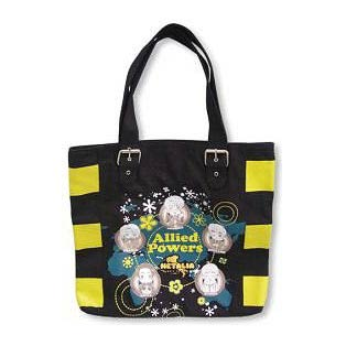 Hetalia Allied Powers Black Tote Bag