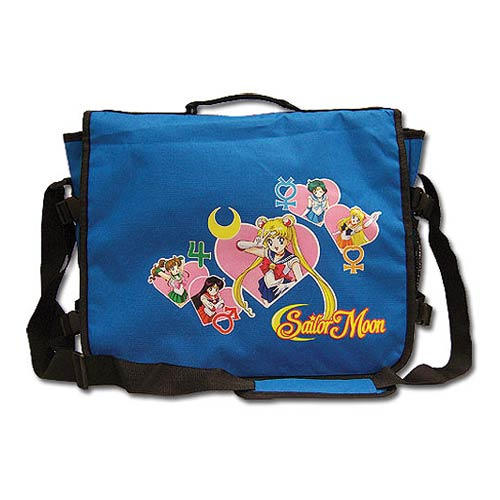 Sailor Moon Sailor Soldiers Blue Messenger Bag