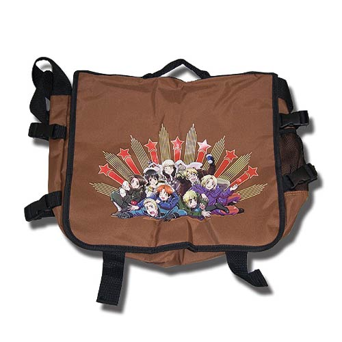 Hetalia World Series Group Photo Brown Messenger Bag