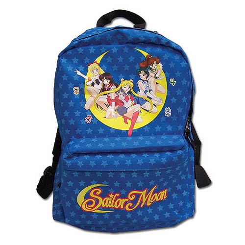 Sailor Moon Soldiers Starry Blue Backpack