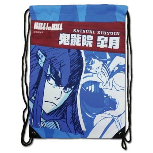 Kill La Kill Satsuki Kiryuin Drawstring Bag