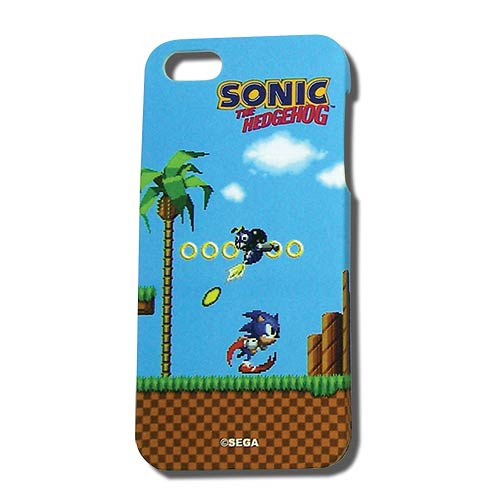 Sonic Classic Green Hill Zone iPhone 5 Case