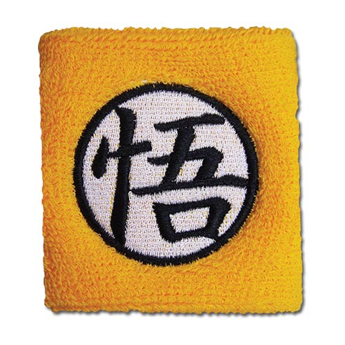 Dragon Ball Z Goku Symbol Yellow Sweatband
