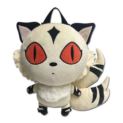 Inuyasha Kirara 12 1/2-Inch Plush Backpack
