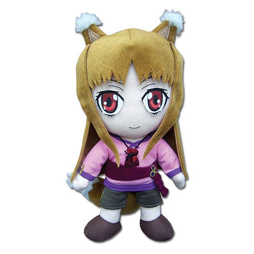 Spice and Wolf Holo the Wise Wolf Plush