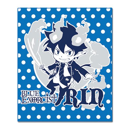 Blue Exorcist Rin Kakusei Throw Blanket