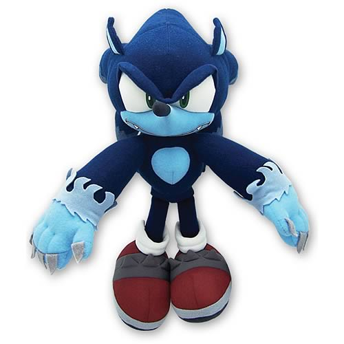 Sonic the Hedgehog Werehog Plush