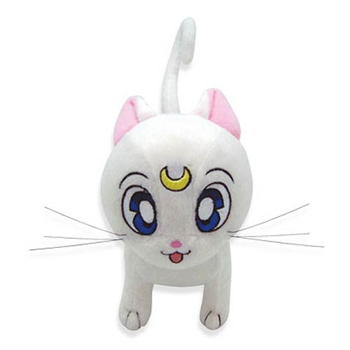 Sailor Moon Artemis Cat 6 1/2-Inch Plush