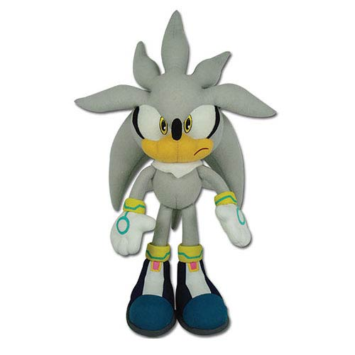 sonic the hedgehog silver sonic 13inch plush great