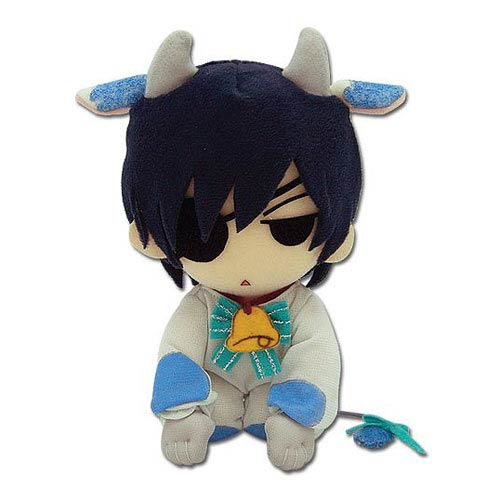 Black Butler Ciel Phantomhive Cow Cosplay Plush