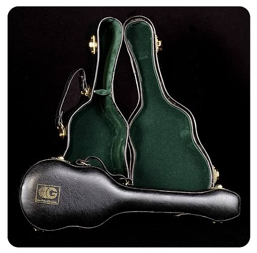 Hofner Bass Guitar Case 1:5 Scale Replica