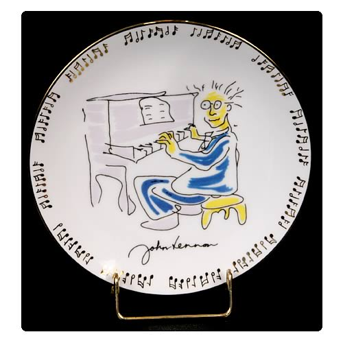 John Lennon Borrowed Time 8 1/8-inch Plate