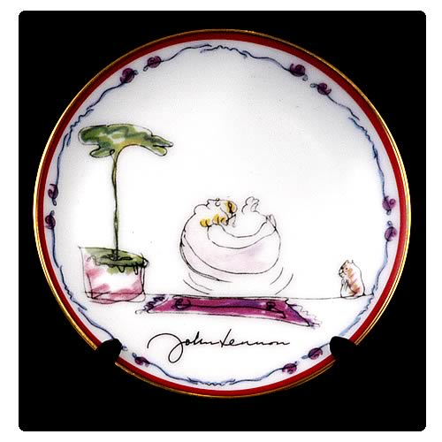 John Lennon Feeling Good 3 1/4-inch Plate