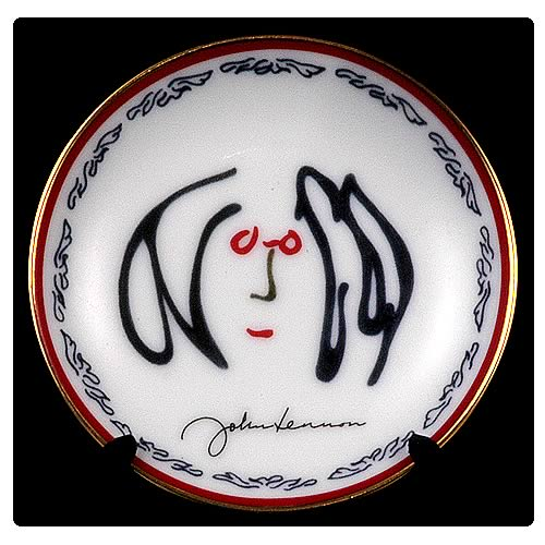 John Lennon Self Portrait Too 3 1/4-Inch Plate