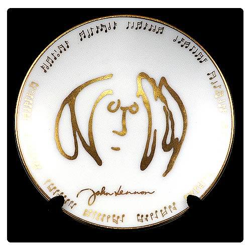 John Lennon Self Portrait 3 1/4-inch Plate