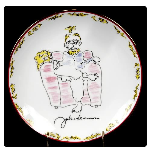 John Lennon Why Not? 8 1/8-Inch Plate