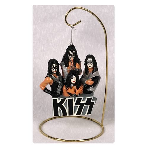 KISS Hanging Figurine