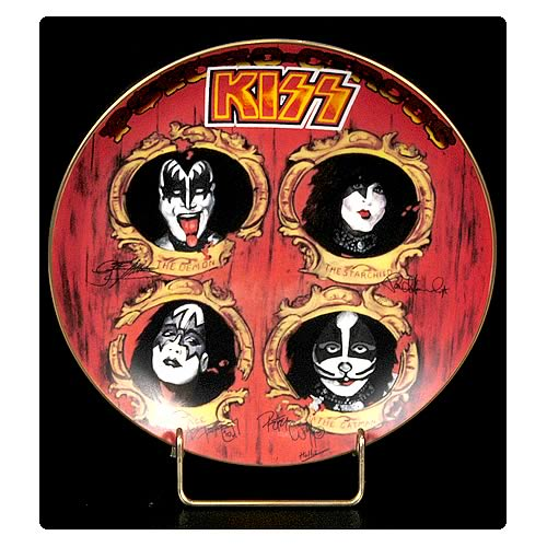 KISS Psycho-Circus 8 1/8-inch Plate