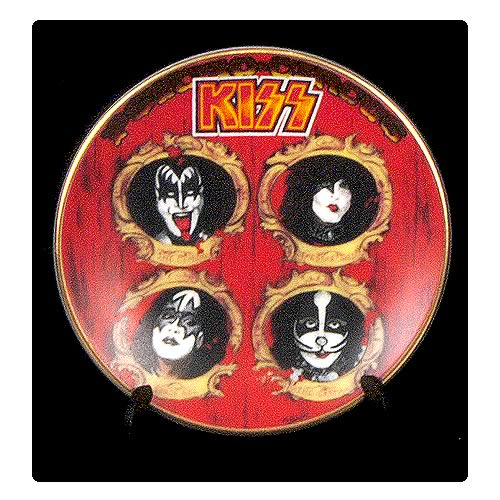 KISS Psycho-Circus 3 1/4-inch Plate