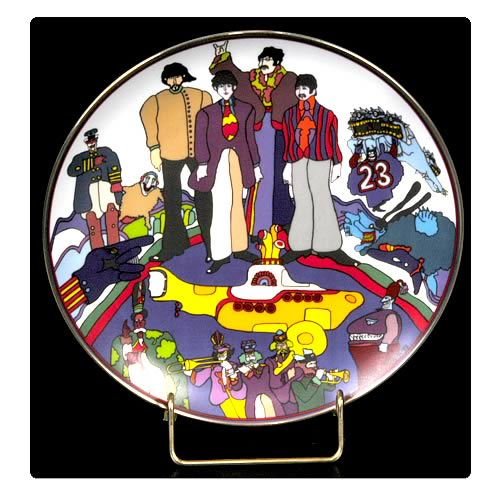 The Beatles All Together Now 8 1/8-inch Plate
