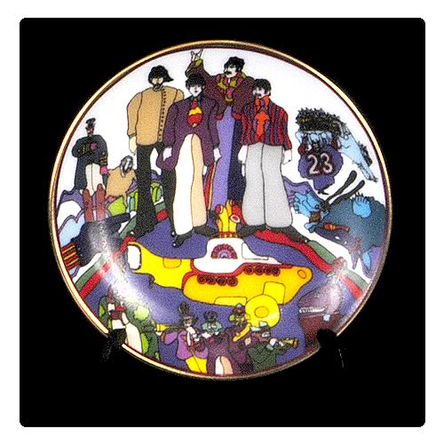 The Beatles All Together Now 3 1/4-inch Plate