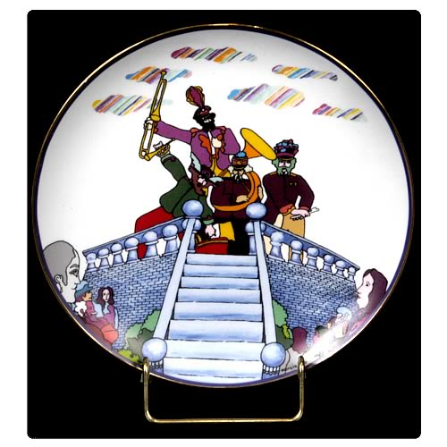 The Beatles Pepperland 8 1/8-inch Plate
