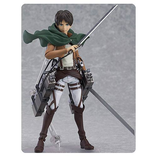 Attack on Titan Eren Yeager Figma Action Figure