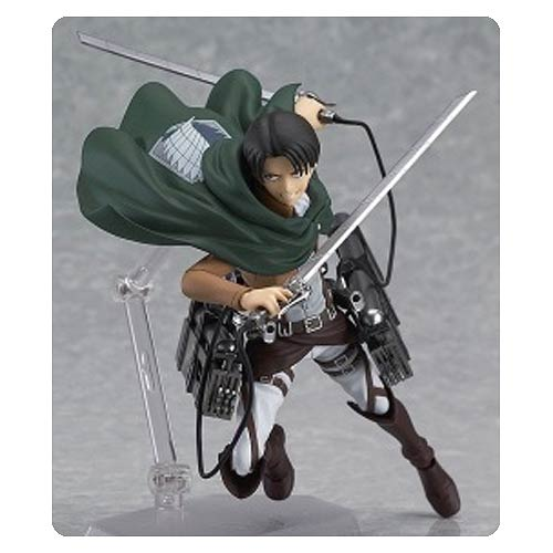 Attack on Titan Levi Figma 5 1/2-Inch Action Figure