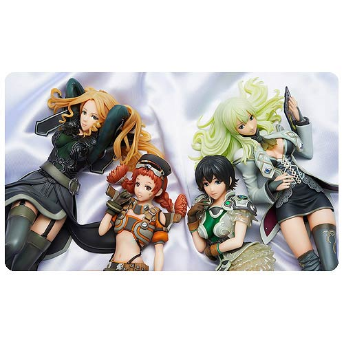 Border Break Girls Collection Statue Set
