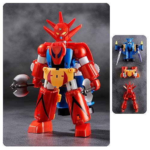 Getter Robo Dynamic Change Getter Robo G Figure 3-Pack