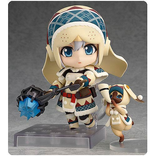 Monster Hunter 4 Female Hunter Lagombi Nendoroid Figure