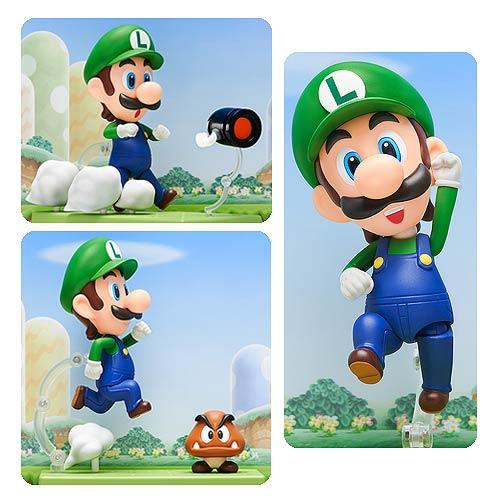 Super Mario Bros. Luigi Nendoroid 4-Inch Action Figure
