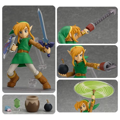 Legend of Zelda Link Deluxe Version Action Figure