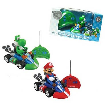 Super Mario Kart Wii Small Remote Control Car Half Case