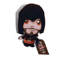 Assassin's Creed Ezio Black Outfit Plush