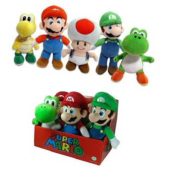Super Mario Bros. Small Plush Case